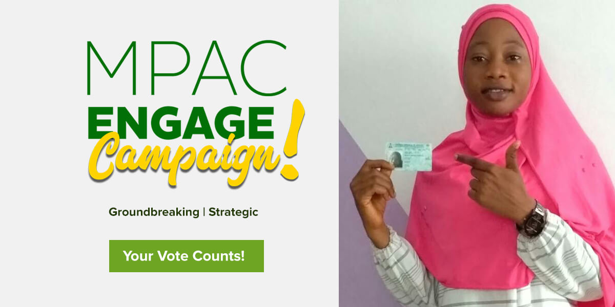 "MPAC ""Engage!"" Campaign Banner"