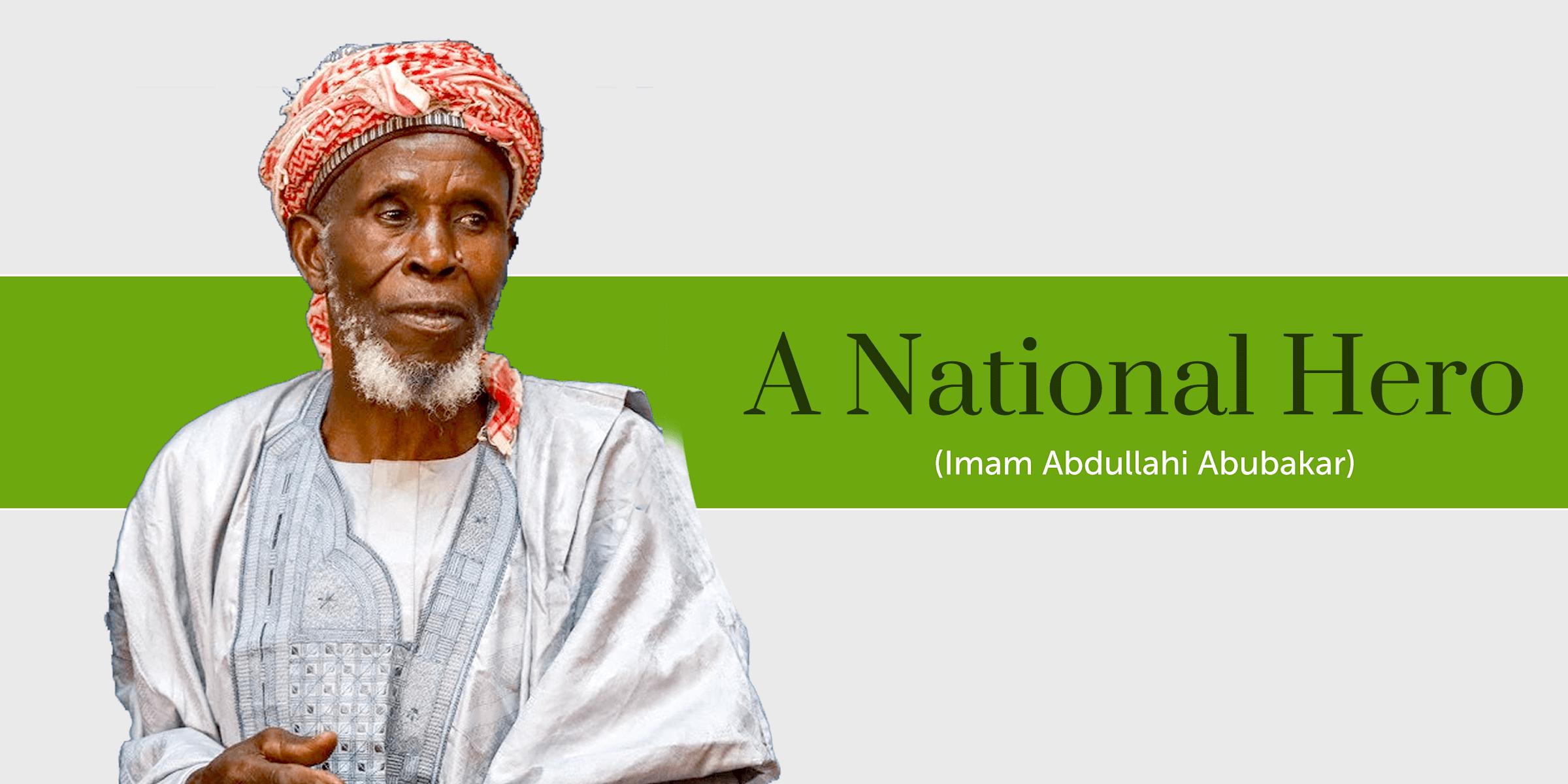 Imam Abdullahi Abubakar Who Saved Christians Got Humanitarian Award