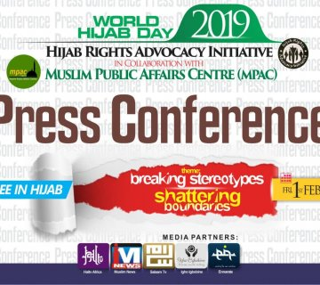 2019 World Hijab Day Joint Press Conference