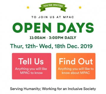 2019 MPAC Open Days